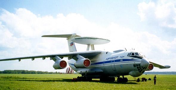 俄空军2008年起接装改进型A-50预警机(图)