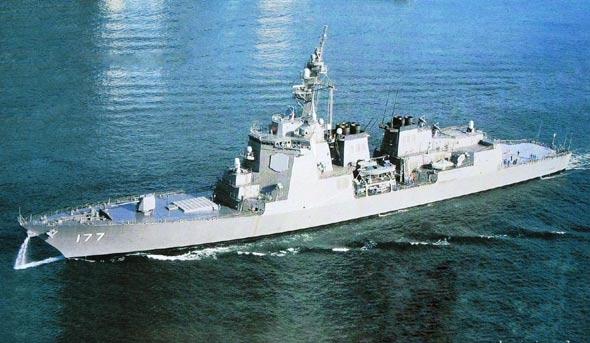 日本海上自卫队将部署第六艘宙斯盾驱逐舰(图)