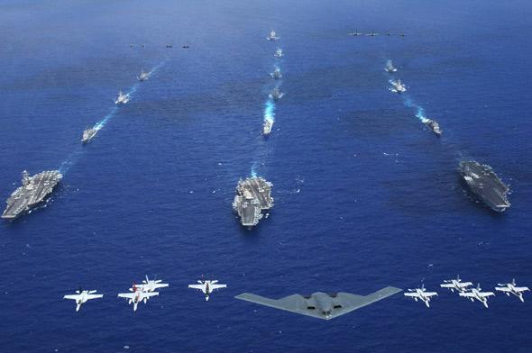 反恐和伊拉克战争催生美军航母新战略(图)