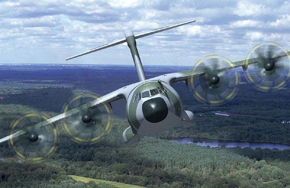 空客开始组装首架A400M中型军用运输机(图)