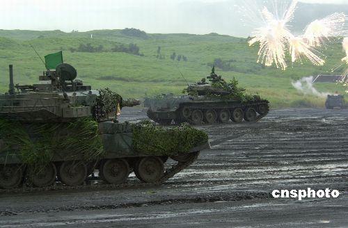 日本自卫队的假想敌从苏联变成朝鲜中国(图)