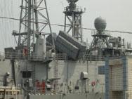 台军雄风反舰导弹近日意外在基隆港曝光(图)