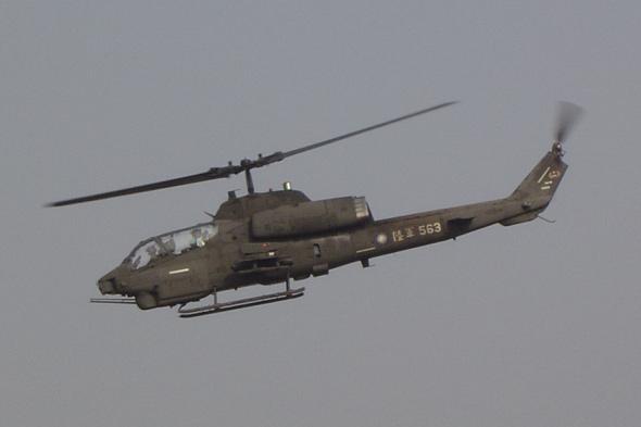 台军内部透露汉光演习导弹自爆险些危及直升机