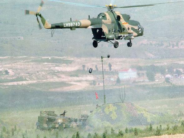 中国少将谈陆航在未来战争中地位与作用(图)