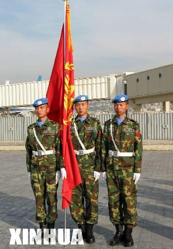 中国维和官兵在黎巴嫩面临生死考验(图)