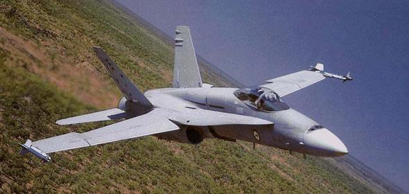 澳大利亚空军装备新型F/A-18战机模拟器(图)