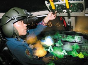 中国陆航装备头盔夜视仪夜战能力异常强悍