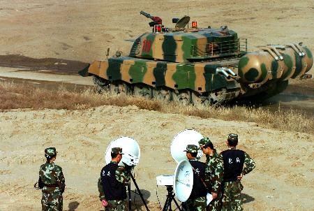 中国首次举行大规模实兵对抗反恐演习(组图)