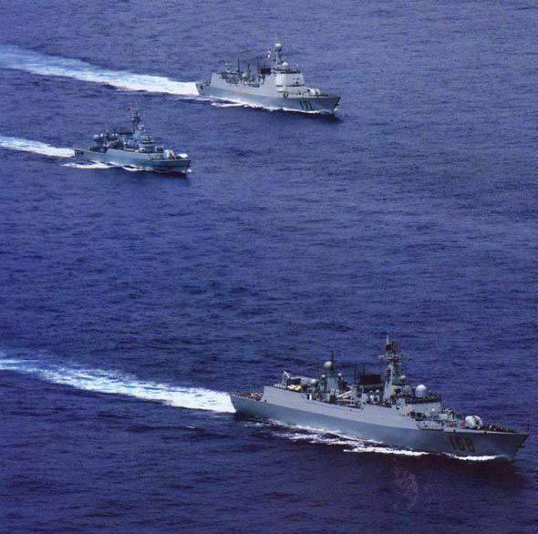 中国新型战舰有多种先进武器达到最佳隐身效果