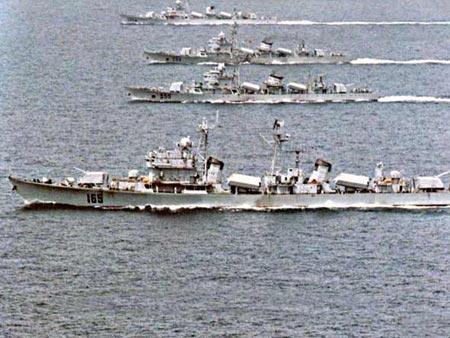 中美海军将在南海举行海上联合搜救演习(图)