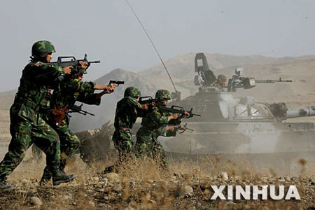 中国巴基斯坦今起举行友谊-2006反恐军演(图)