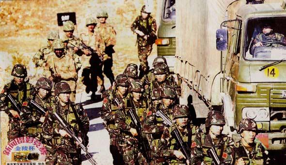 中巴反恐军演实演阶段构想:联合歼灭恐怖分子