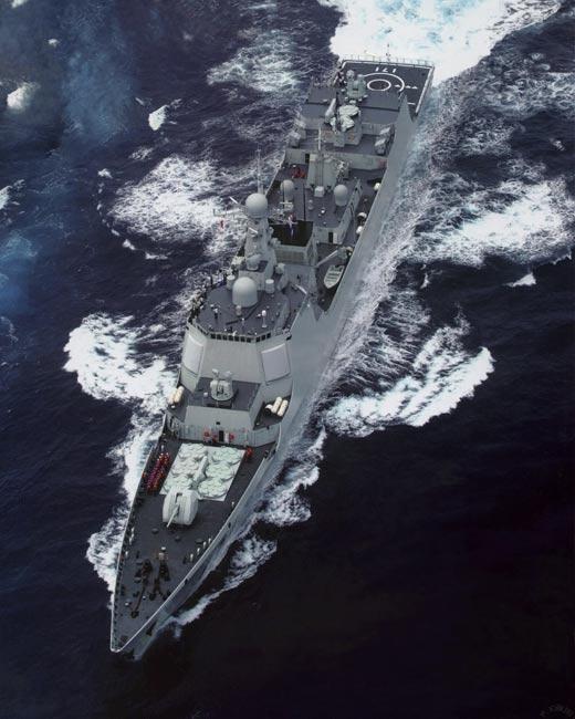 中国海军军官坐过山车提高发射导弹水平(图)