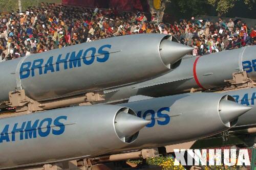 俄印合作生产巡航导弹中巴不在销售对象之列