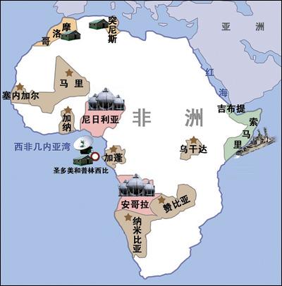 美军挺进非洲争夺能源控制石油运输线咽喉