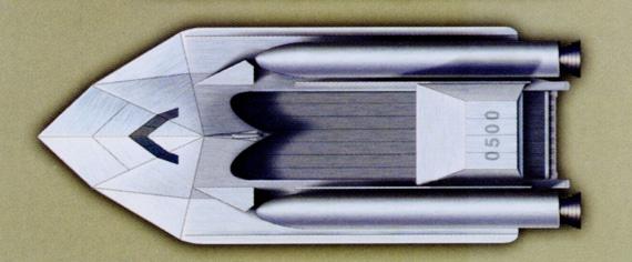 图文:飞鳐级大型火箭登陆艇上视图