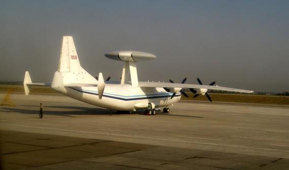 中国Y-8F-600预警机原型机亮相巴基斯坦(图)