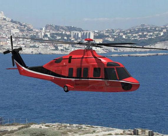 中国航天第二集团正在自主开发新型10吨直升机