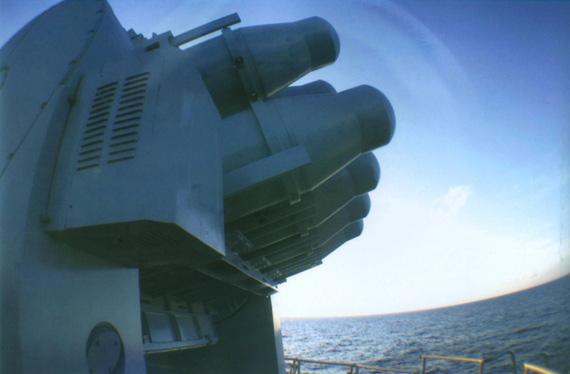 中国海军舰队和平07演习首次海外使用武器(图)