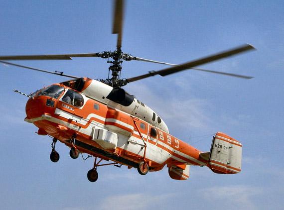 出售给韩国的卡-32共轴直升机