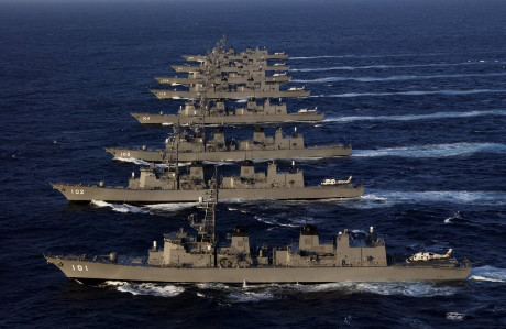 《防务新观察》28日播出亚洲海军走向大洋深处