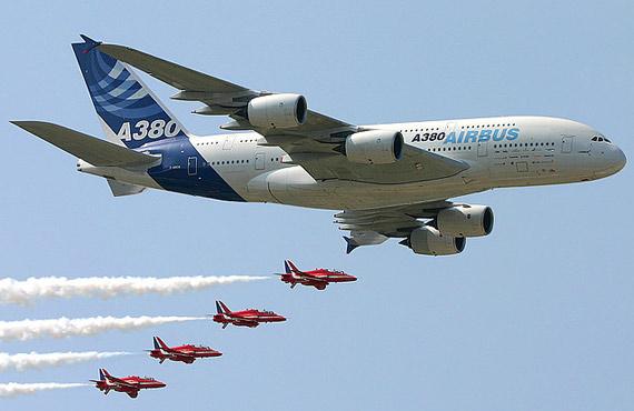 空客A380货机可用于投放空间观光飞行器(图)