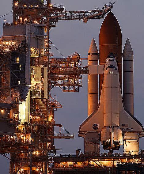 资料图:美国国家宇航局航天飞机发射场