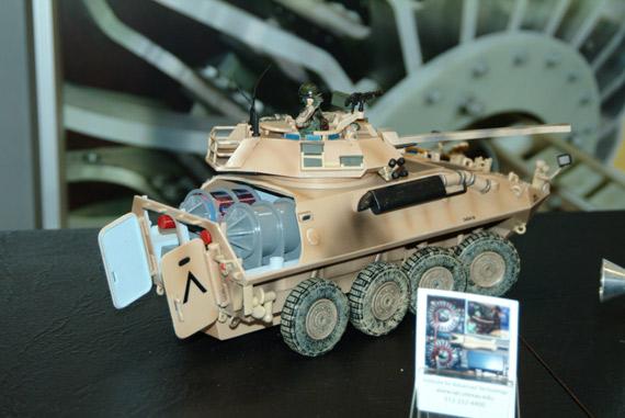 电磁炮将很快成为现代战场强悍的杀伤武器(图)