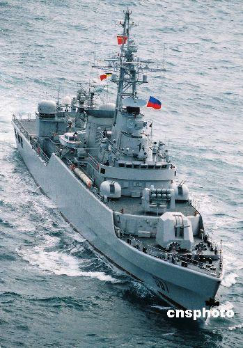 中国襄樊号战舰参加多边演习四大课目表现出色