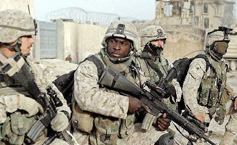 美国防部长称美国可能在伊拉克长期驻军(图)