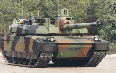 法国公布改进型勒克莱尔坦克部分数据(组图)