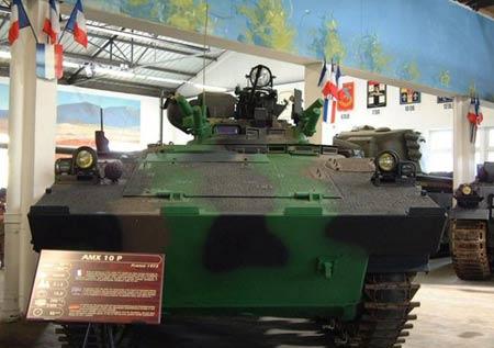 法国陆军升级108辆AMX-10P步兵战车(组图)