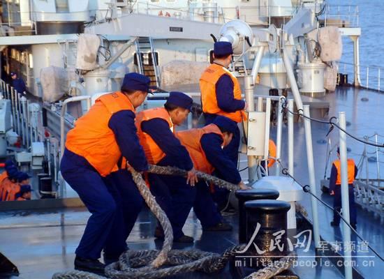 组图:我国东海舰队某支队进行舰艇全训考核