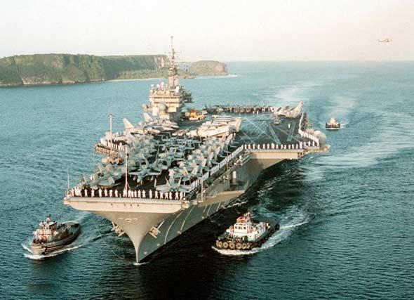 美日海空联合军演同时举行欲巩固两国军事同盟