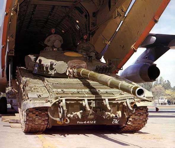 图文:印度陆军装备的俄制T-72M1主战坦克