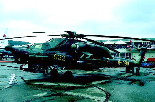 图文:1991年6月米-28A在法国巴黎航展