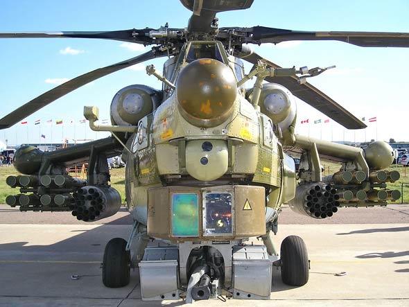 图文:米-28N是由这种米-28A发展来的