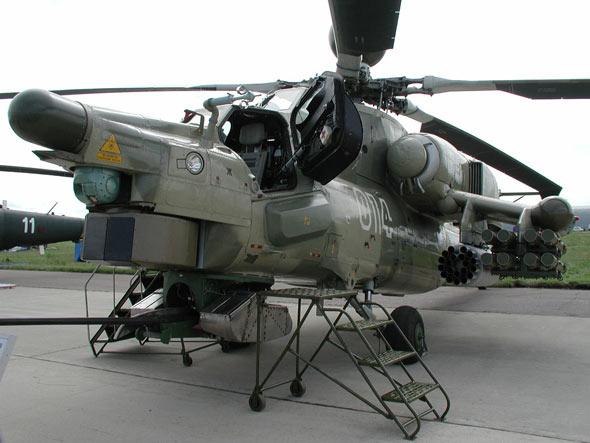 """米-28""""浩劫""""武装直升机"""