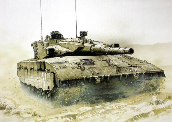 梅卡瓦坦克 以色列