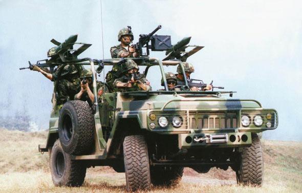 十五期间中国军队武器装备现代化进程(附图)