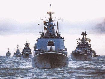 图文:我海军舰艇编队多次出访