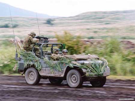 日本自卫队针对解放军急速发展武装力量(图)