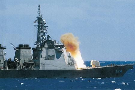日本海上自卫队2006年在东海干什么(组图)