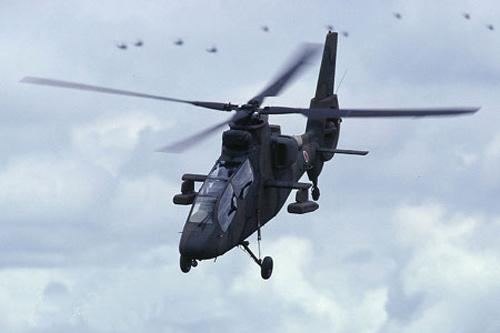 图文:日本OH-1侦察攻击直升机