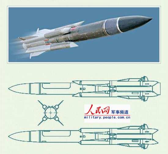 图文:Kh-31P型中程反雷达被动雷达寻的导弹