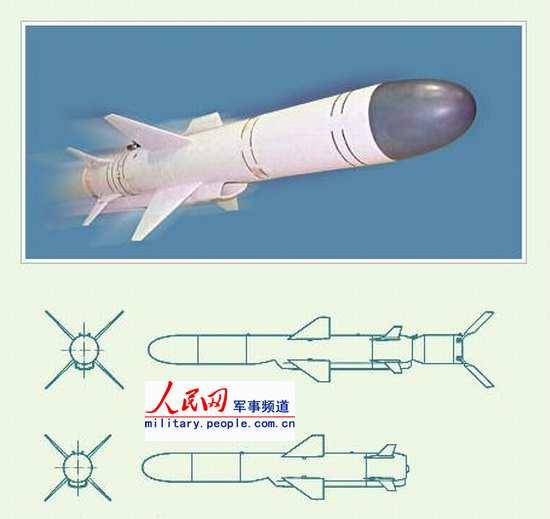 图文:Kh-35E(3M-24E)型战术反舰导弹