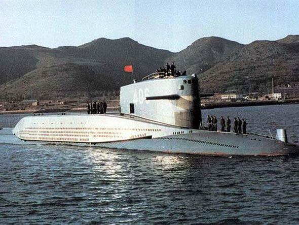 图文:中国406战略核潜艇