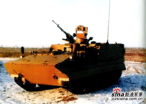图文:GCL-45连用侦察车用作前方观察所