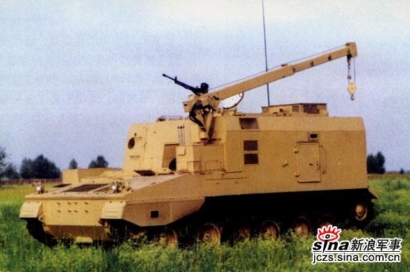图文:PCZ-45弹药支援车