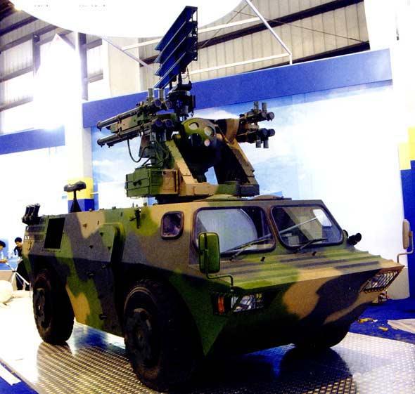 国产四款新型近程机动防空导弹系统对比(图)